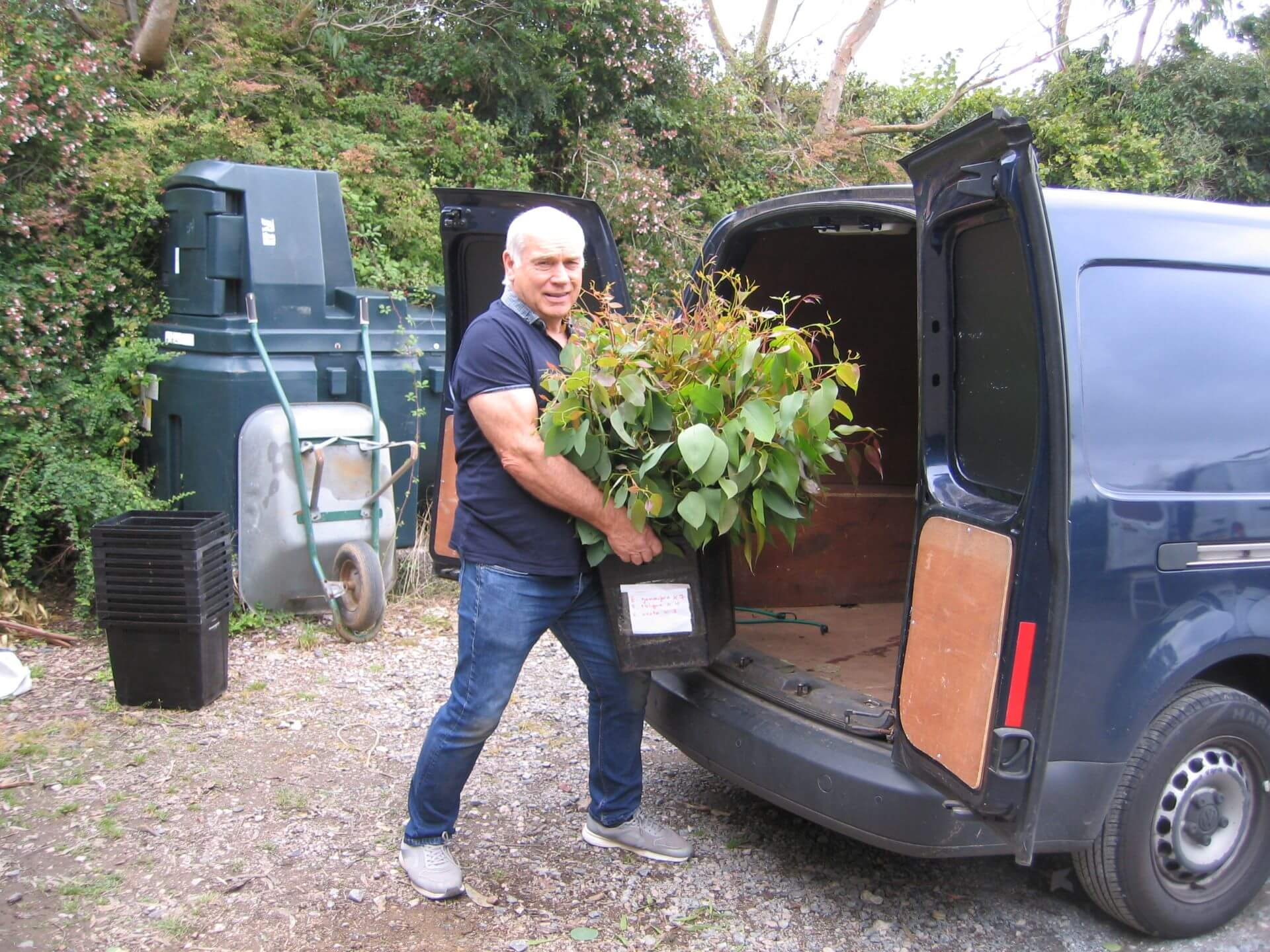 Edward-loading-the-van-in-Devon-England